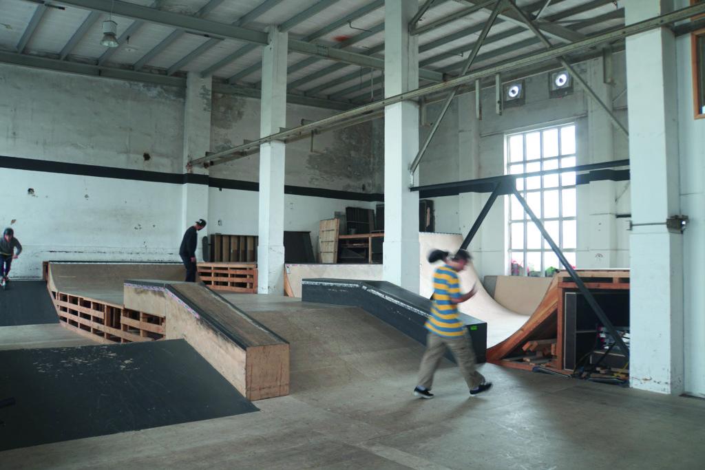 板場的設施由Raik和朋友們一手一腳興建