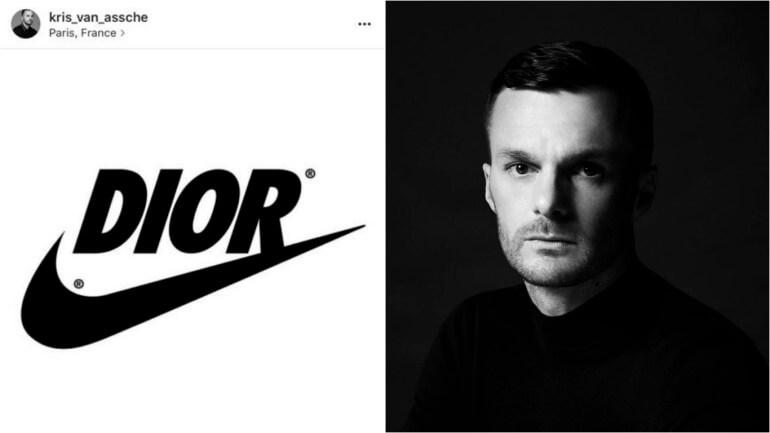 Dior前男裝創意總監 Kris Van Assche曾經發放「JUST DO DIOR」文案。