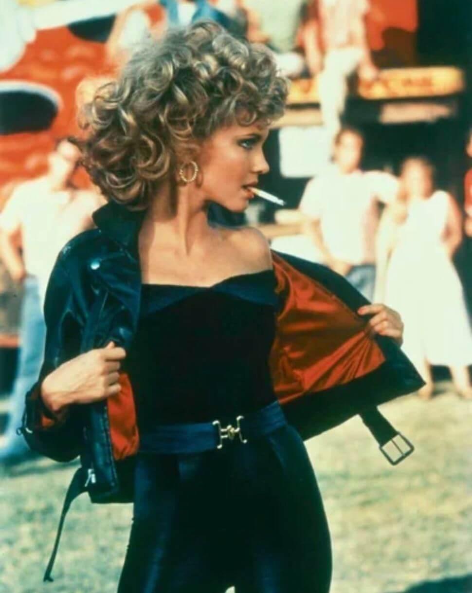 Olivia Newton-John在電影《火爆浪子》(Grease)的演出。