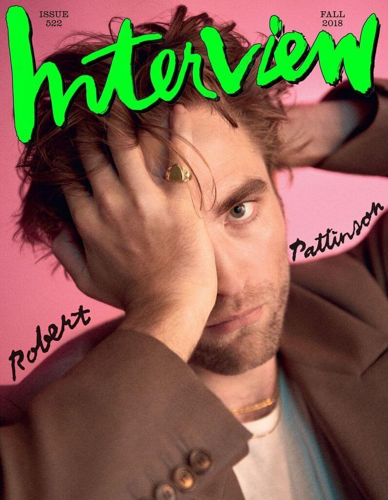 復刊後的第二期,邀請Robert Pattinson拍攝封面。
