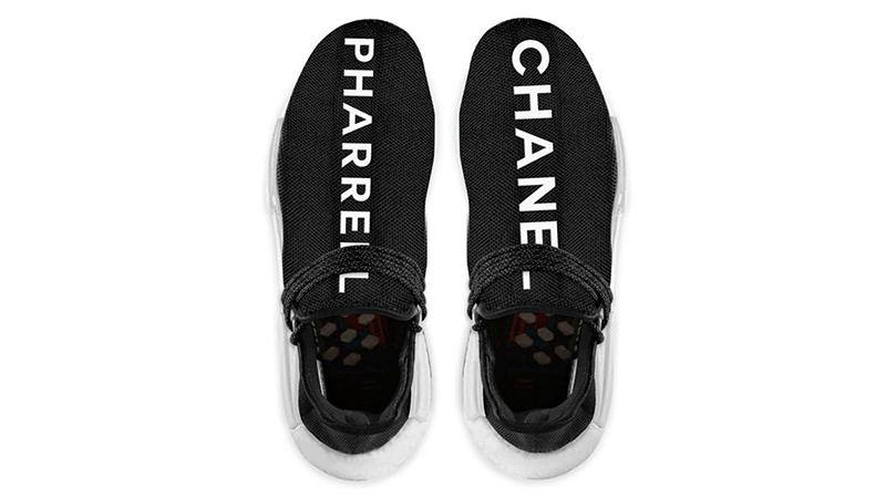 Chanel2017年與Pharrell Williams、adidas三個單位合作的機Hu NMD波鞋,把波鞋炒價推至高峰。