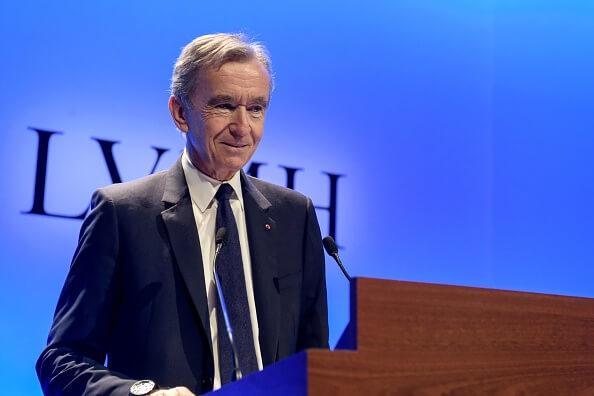 LVMH董事Bernard Arnault