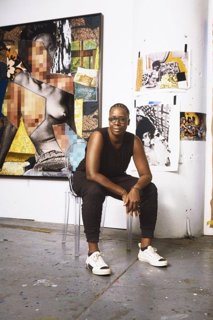 非裔美國女性藝術家Mickalene Thomas第二年參與Dior Lady Art藝術企劃。