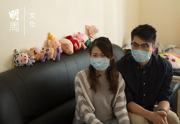 催淚彈入屋後翌日,二人依然有身體不適,需要看醫生。