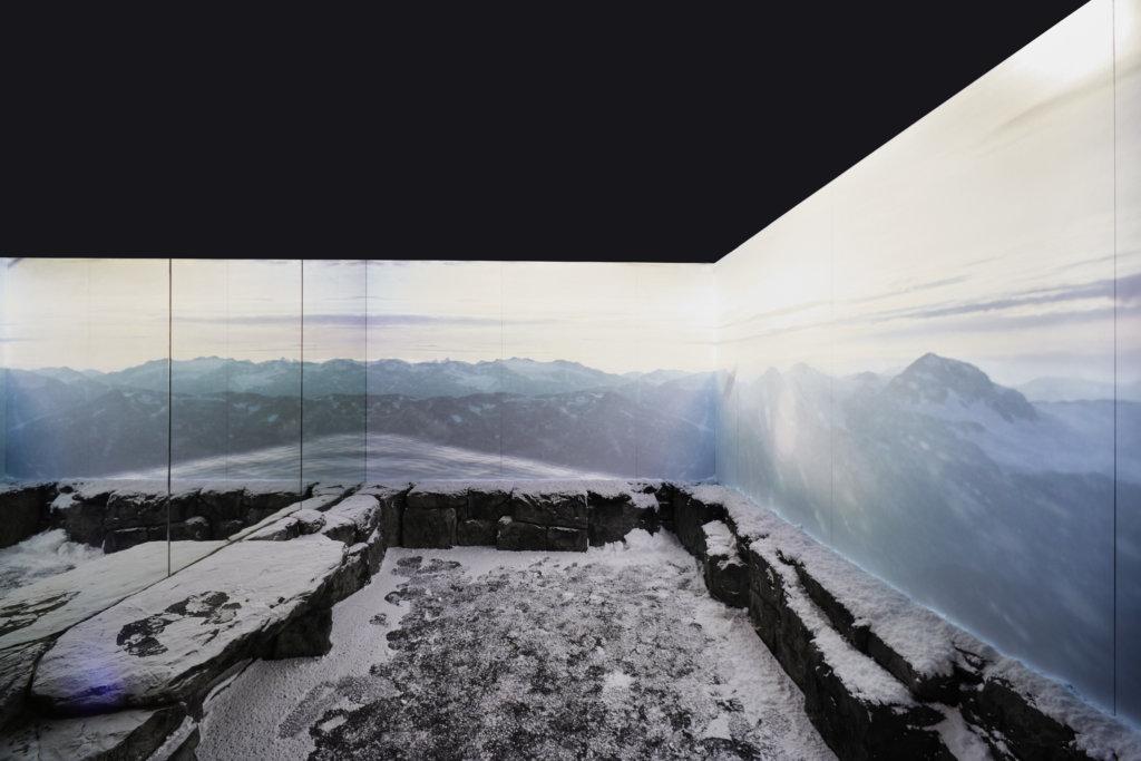 新一代Cold Room低溫室內,將顧客置身於被真實冰雪所包圍的場景,仿如置身至零下12攝氏度的極地地區。