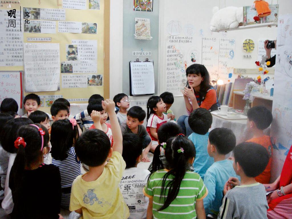 林真美說童年是年輪的核心。 我們都要珍惜孩子,包括住在 自己內心的那個孩子。