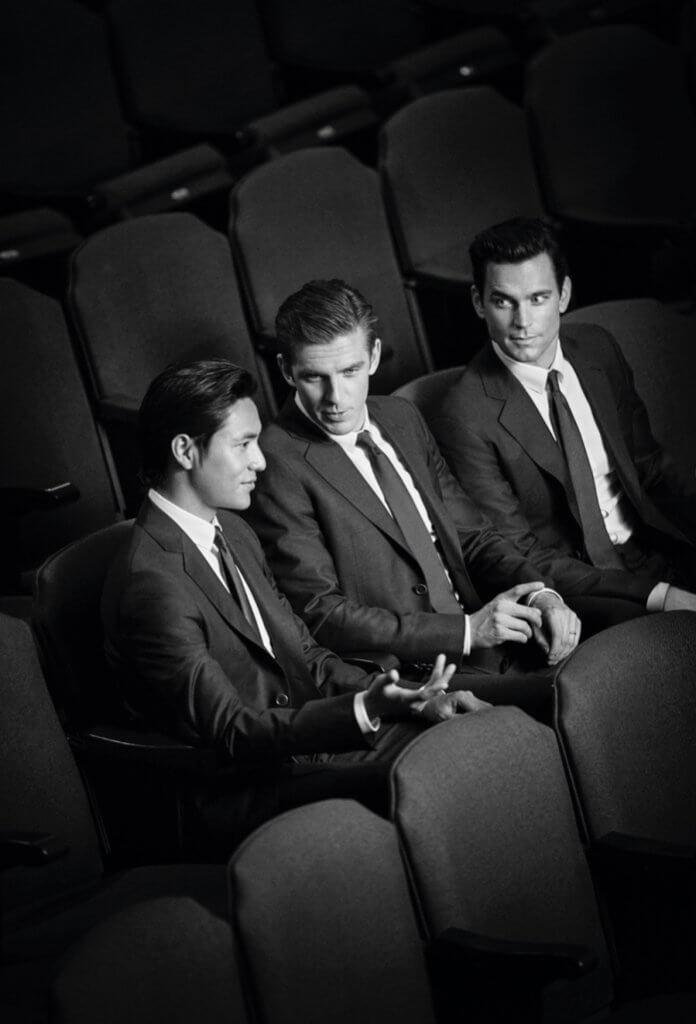 Giorgio Armani 最新的大片請來Matt Bomer、陳坤還有Dan Stevens共同演繹。