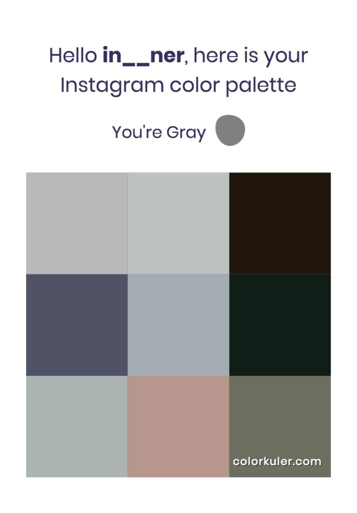 我們INNER Instagram的代表色,你們又是什麼顏色呢?