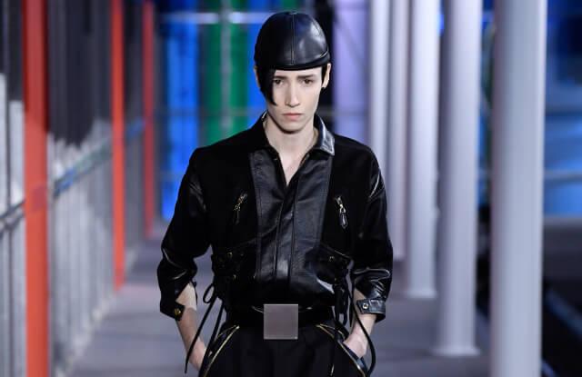 模特兒Krow Kian是Louis Vuitton首位合作的跨性別模特兒