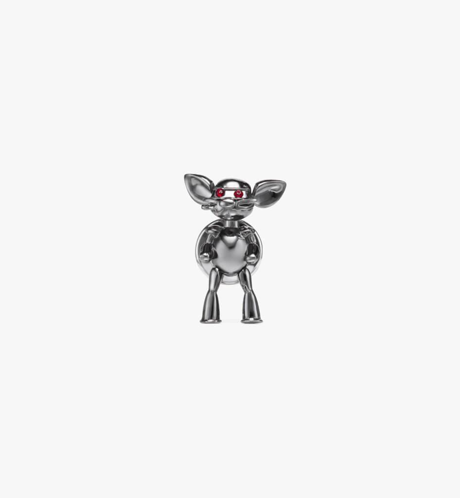 Robot Mouse 別針(不鏽鋼色) HKD1,100