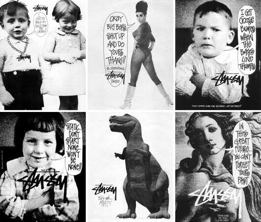 Shawn Stussy 1987-1989 Stüssy Campaign