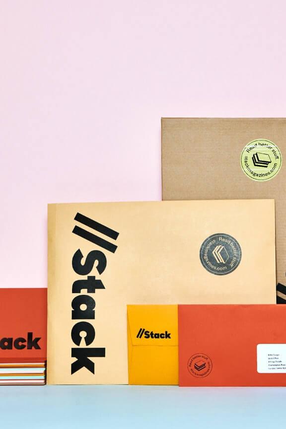 提供小眾雜誌訂閱的平台Stack Magazines,會依據不同主題從眾多獨立出版中選出一本「未知」的獨立雜誌,寄去訂閱的讀者手中。