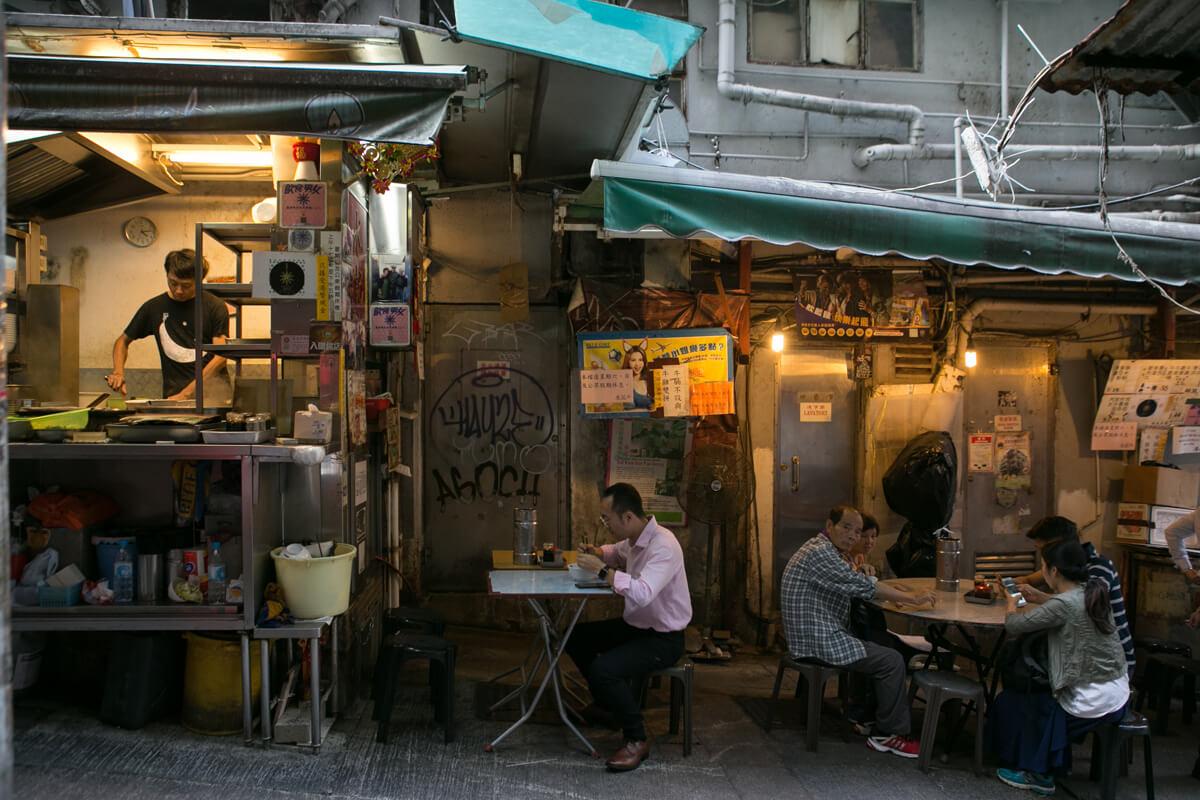 永哥是水記第三代傳人,店舖於中環已屹立六十多載。
