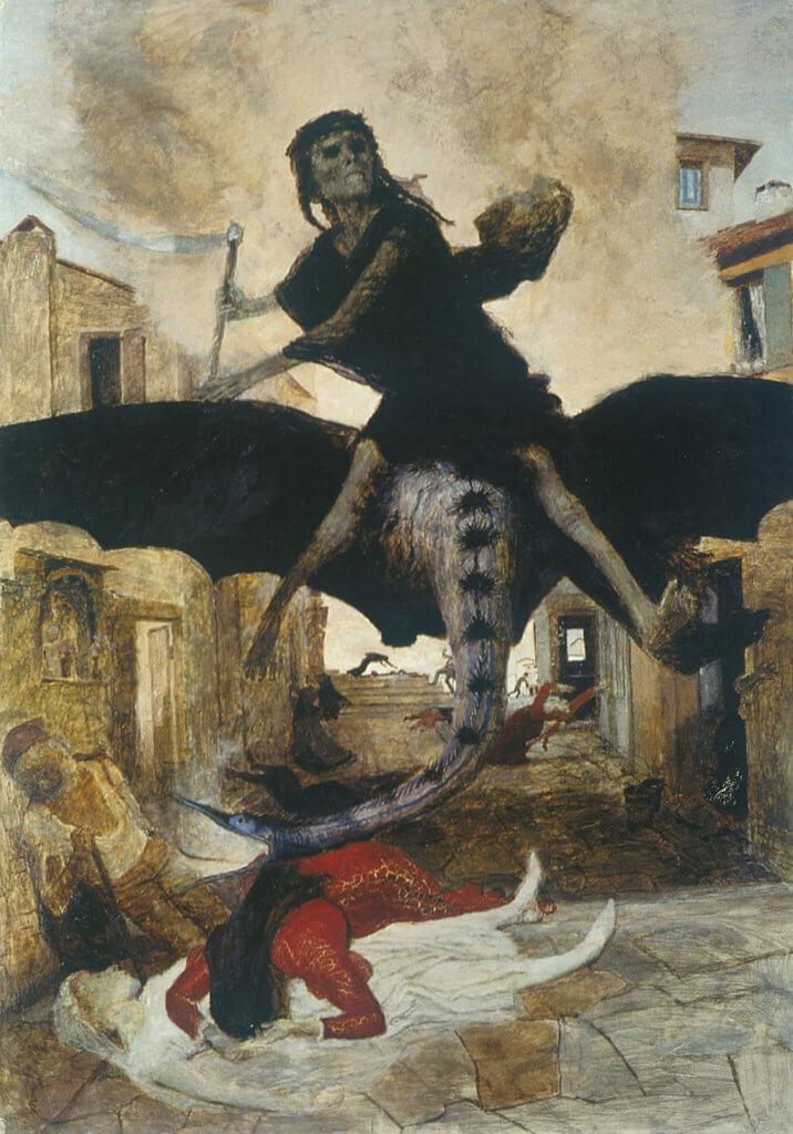 《黑死病魔》,1898。