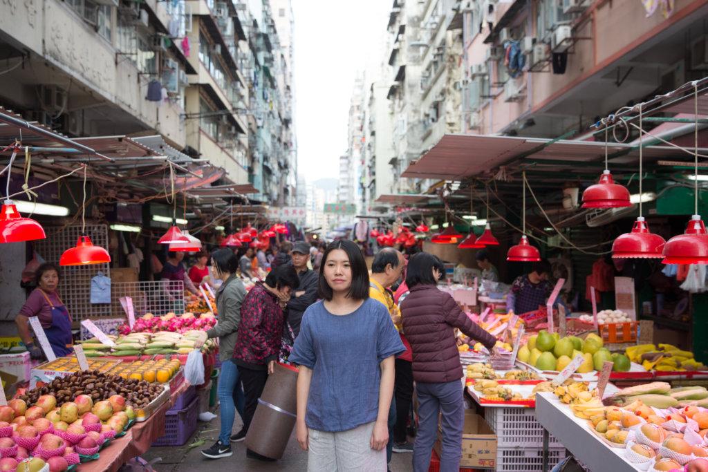 設計師譚君妍,以食物設計帶領觀眾反思動物價值。
