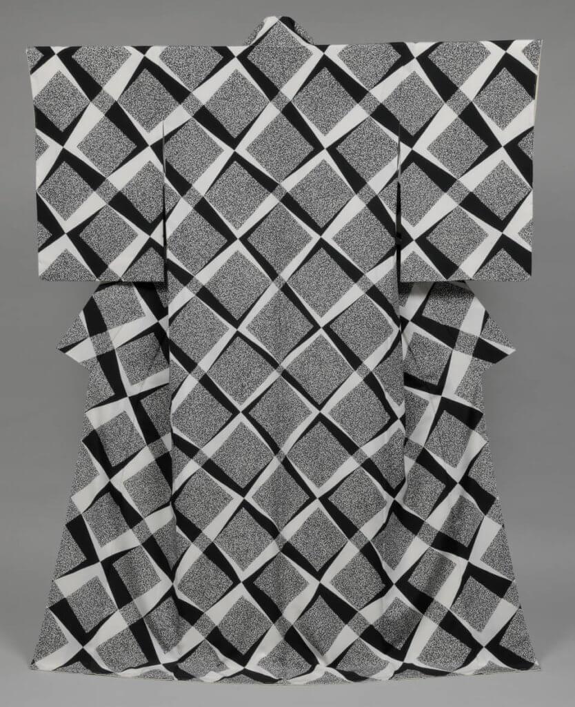 'Beyond', kimono, designed by Moriguchi Kunihiko, 2005, Japan. © Moriguchi Kunihiko