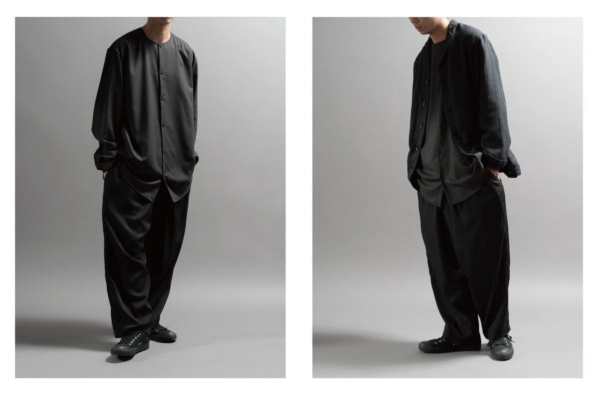 STILL的造型目錄,全黑打扮,不論是正式或休閒場合也適合。