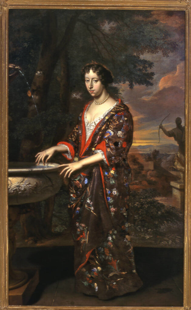 Anna Elizabeth van Reede, by Gerard Hoet, 1678, Netherlands. © Slot Zuylen