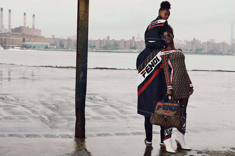 "Fendi & FILA Unveil ""Fendi Mania"" Collection"