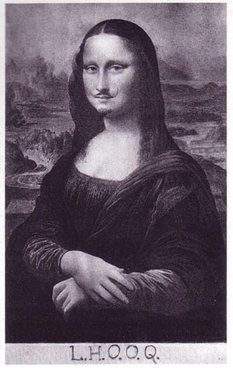杜象發表《L.H.O.O.Q.》(帶鬍鬚的蒙娜麗莎)距今整一百年