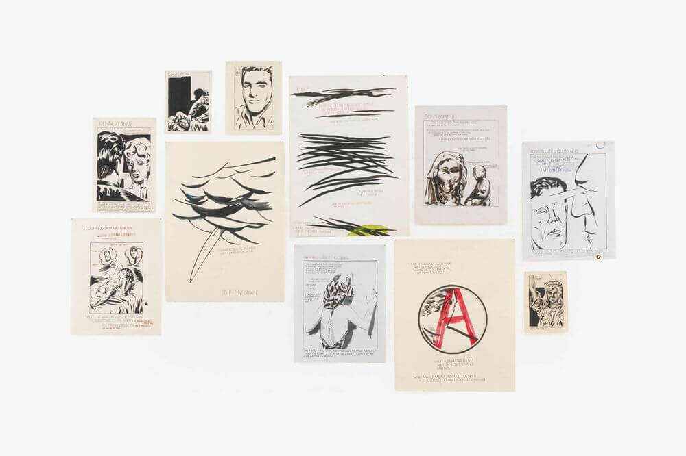 Raymond Pettibon, Untitled (Eleven Works), 1985-1993, Sotheby's