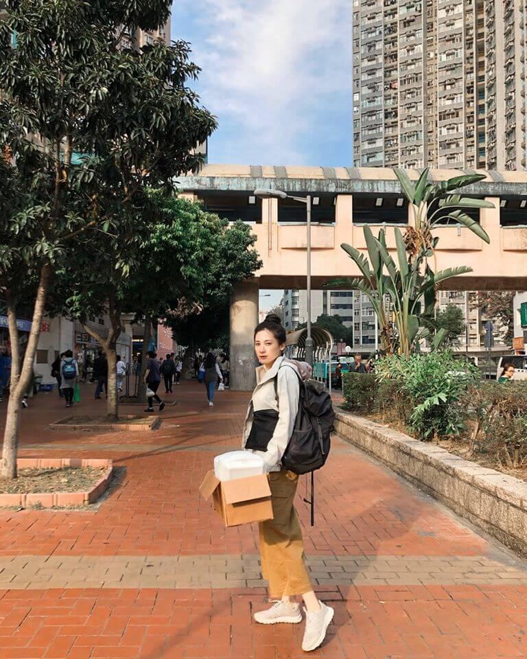 Melody積極關注環保,平日會把飯盒和水樽拿去回收。