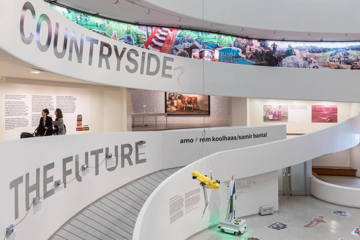 剛於美國古根漢美術館開幕的展覽,展示世界各地鄉郊的轉變。