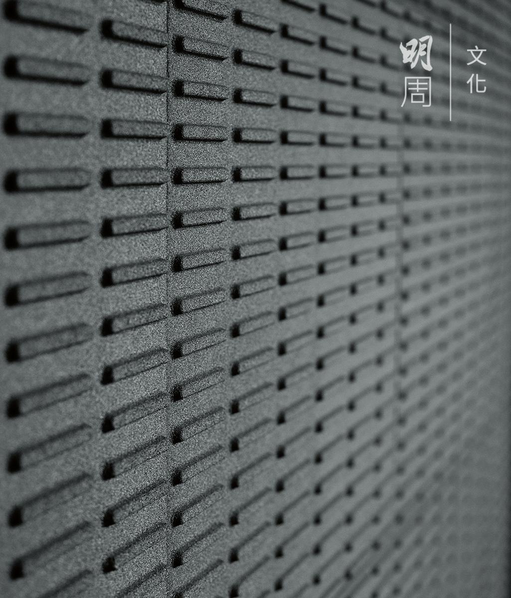 辦公室內的鋁燒結吸音板