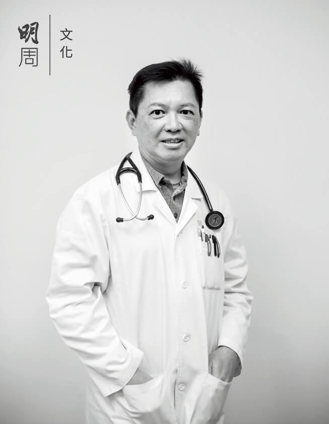 香港老人科醫學會前會長 江明熙 (55歲)