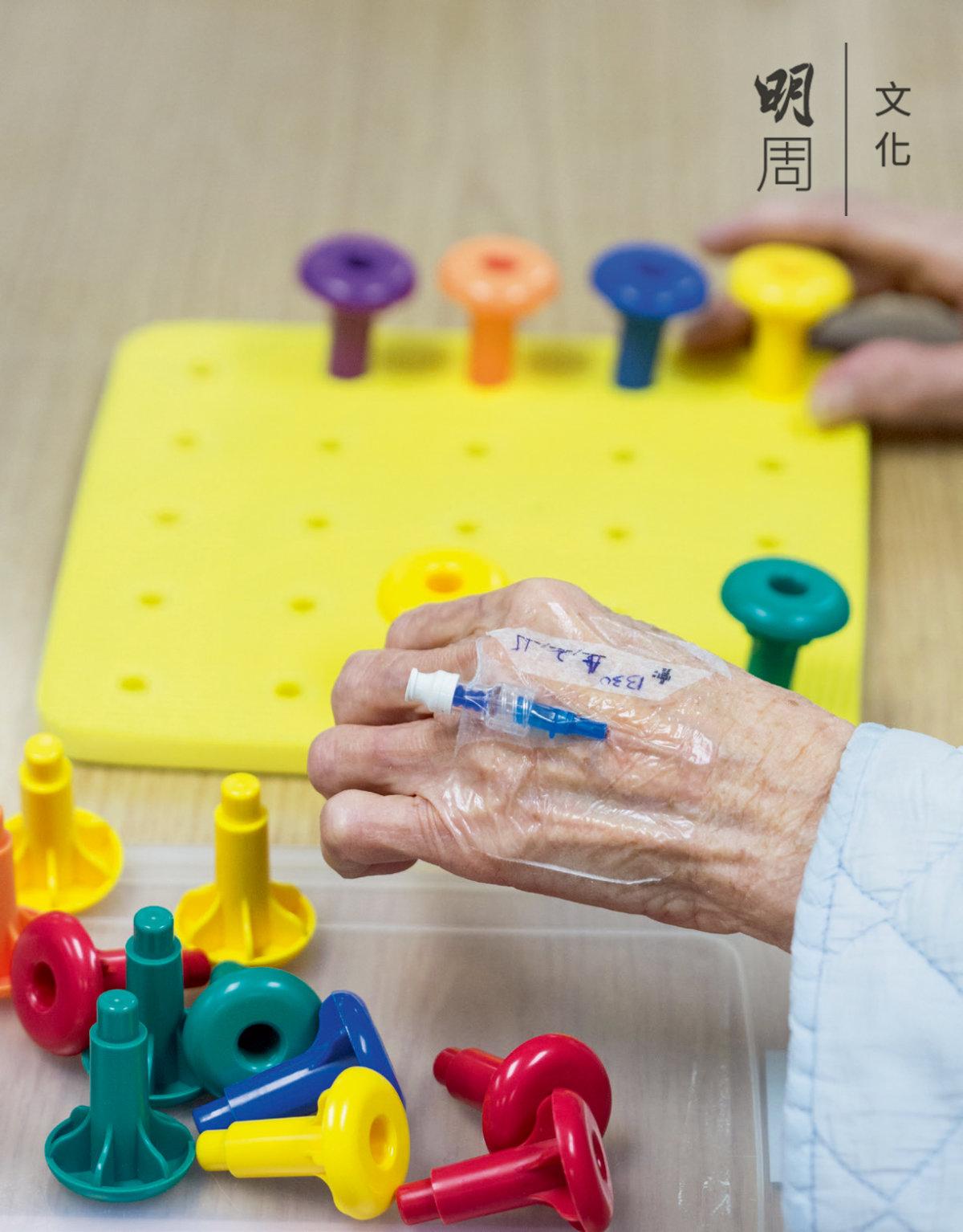 住院病人每日做復康訓練