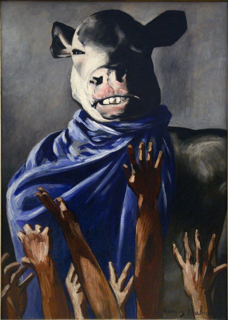 畢卡比亞《金牛犢的祟拜》(1941 - 1942)將在香港展出