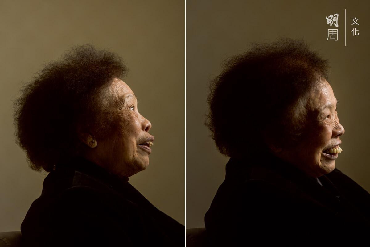 吳鳳蘭(八十四歲) 看一科;每年到醫院覆診四次,每日吃兩粒藥