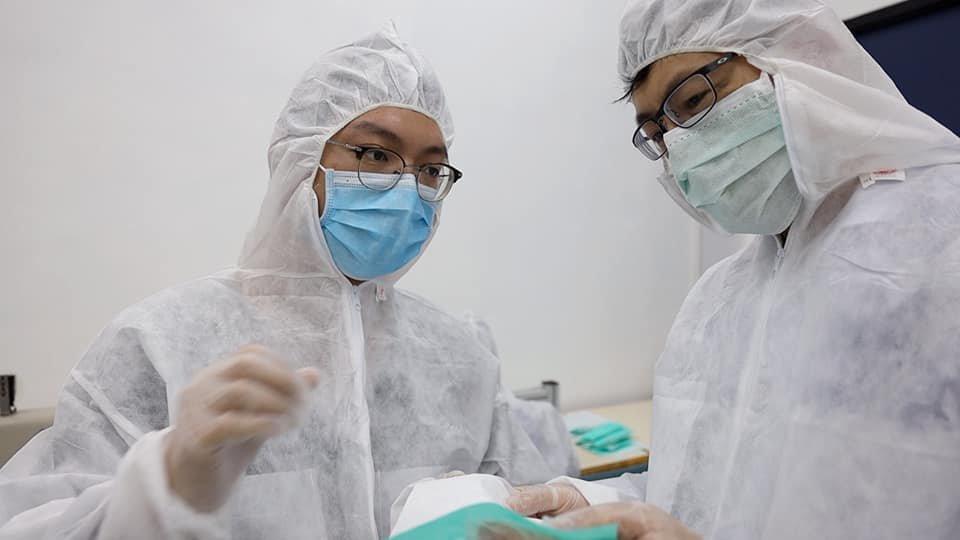 工聯會早前宣布「自己口罩自己造」,於大埔工業邨設立民間口罩生產綫。