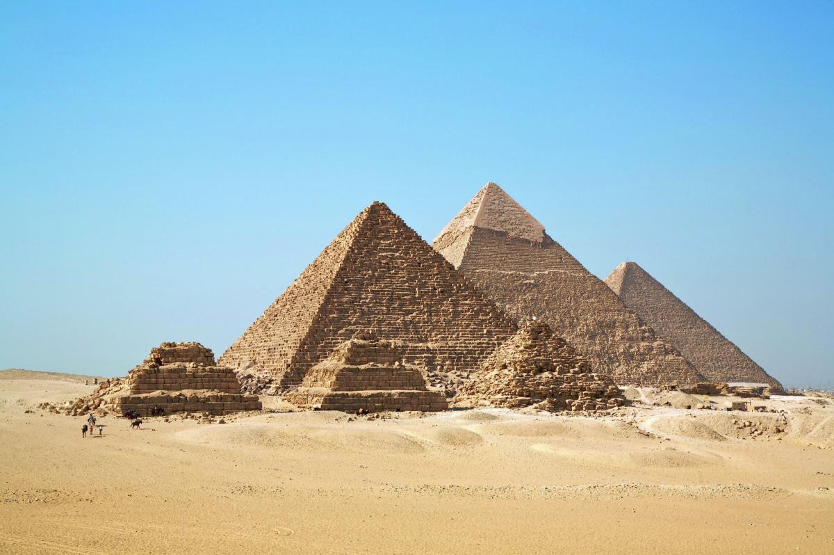 埃及金字塔(2575 BC-2465 BC)