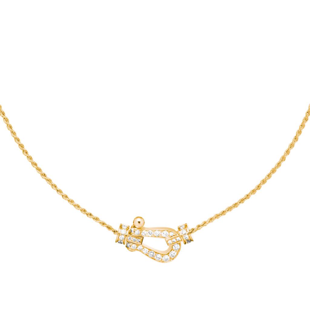 Force 10 黃金鑽石項鏈 HKD 30,000