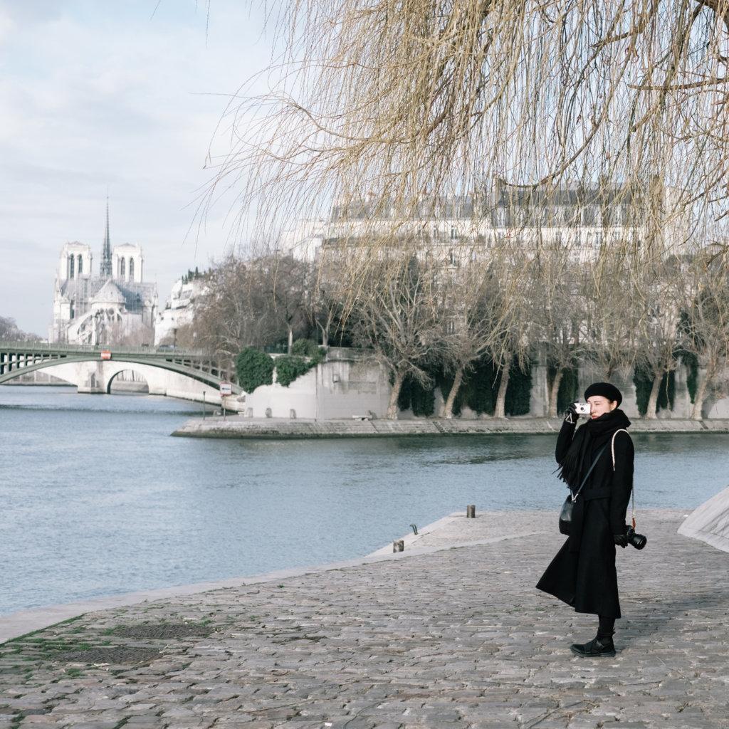 二○一九年到訪巴黎聖母院,幸運當天決定登上塔頂參觀,因為同年四月它就經歷了一場大火,其中一個高塔倒下,天花也燒光了。這讓Rita明白到想去的就要去了,因為永遠都不會知道會不會還有下一次,有點「一期一會」的想法。