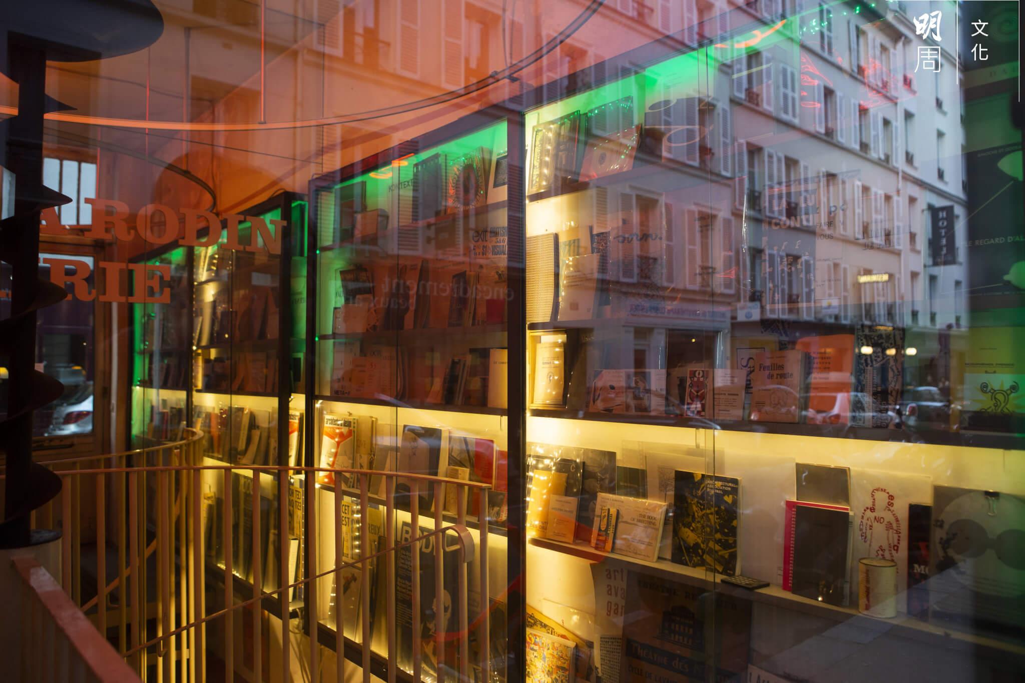 A Balzac A Rodin書店大門