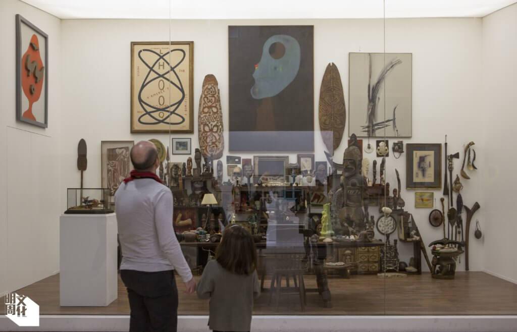 一九二二年至六六年間,超現實主義藝術運動領袖布勒東在在巴黎的書房。