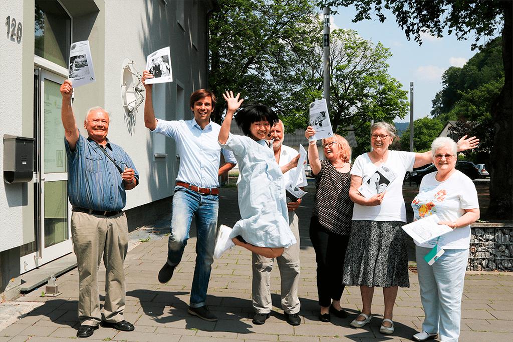 《看見生命的火花:德國高齡社會紀行》作者陳伊敏在德國訪問逾二百位長者,圖片來自書中。攝影:Yvonne Lu