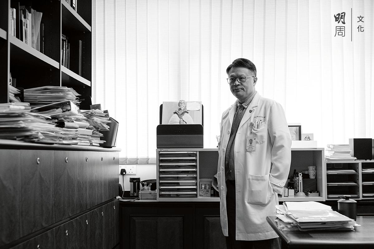 中大醫學院呼吸系統科講座教授許樹昌