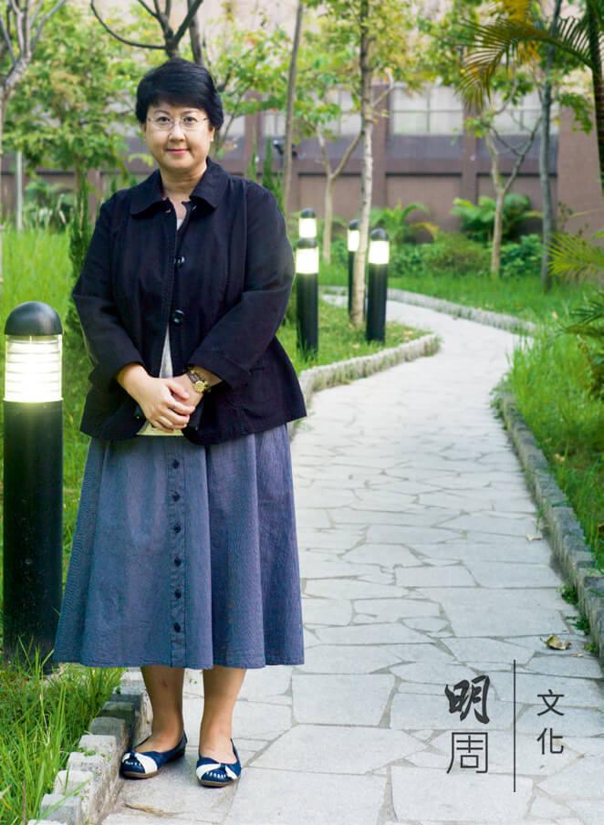 陳莉虹是全港首位全職「朋輩支援專家」,向精神病人分享復康經驗。