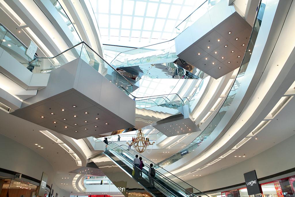 現代新式的商場