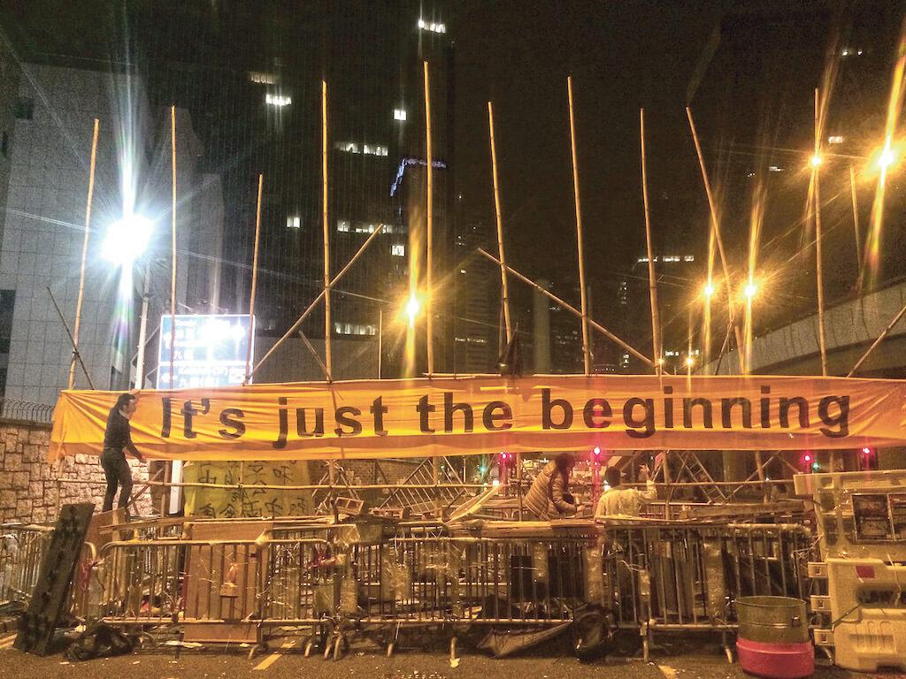 清場那一天,余慧明曾經懷疑:市民真的會有歸來的一天嗎?(來源:明報資料室)