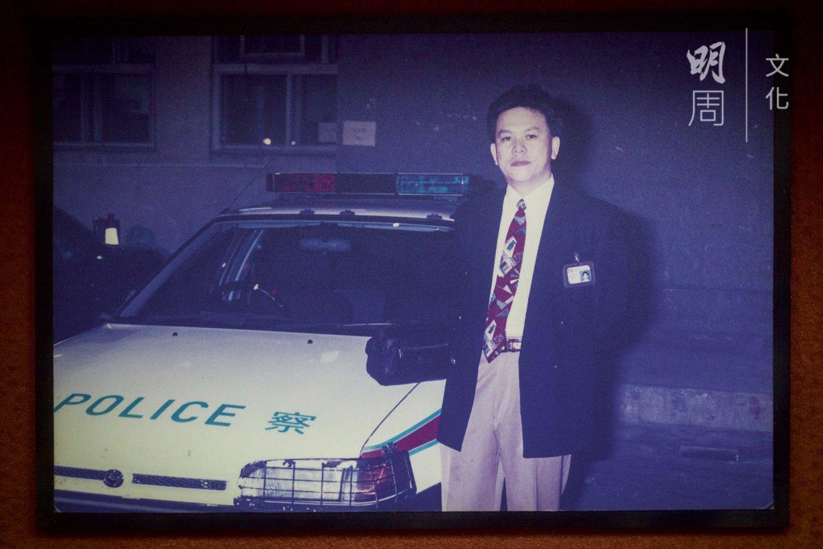 九十年代經常進出警察局,行蹤神秘。