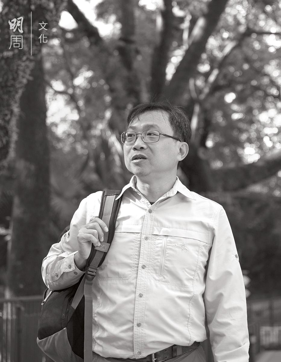 植 物 知 識 網 站「 樹 木 谷」創辦人兼註冊樹藝 師劉文忠指出,加深人對樹木的感情需要更多公眾教育。
