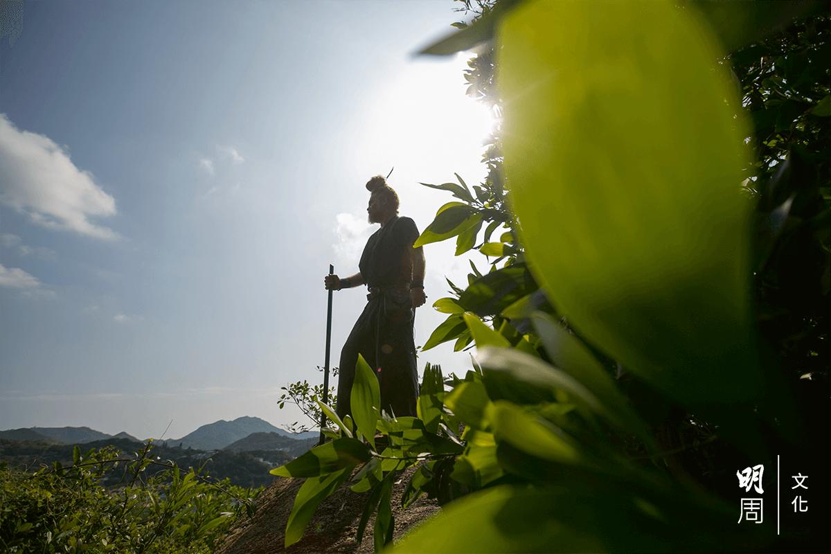 Bobsy Gaia說,守護森 林的努力是無止境的, 要用幾輩子、幾代人來 堅持。這條路沒有終 點,這是一個旅程。