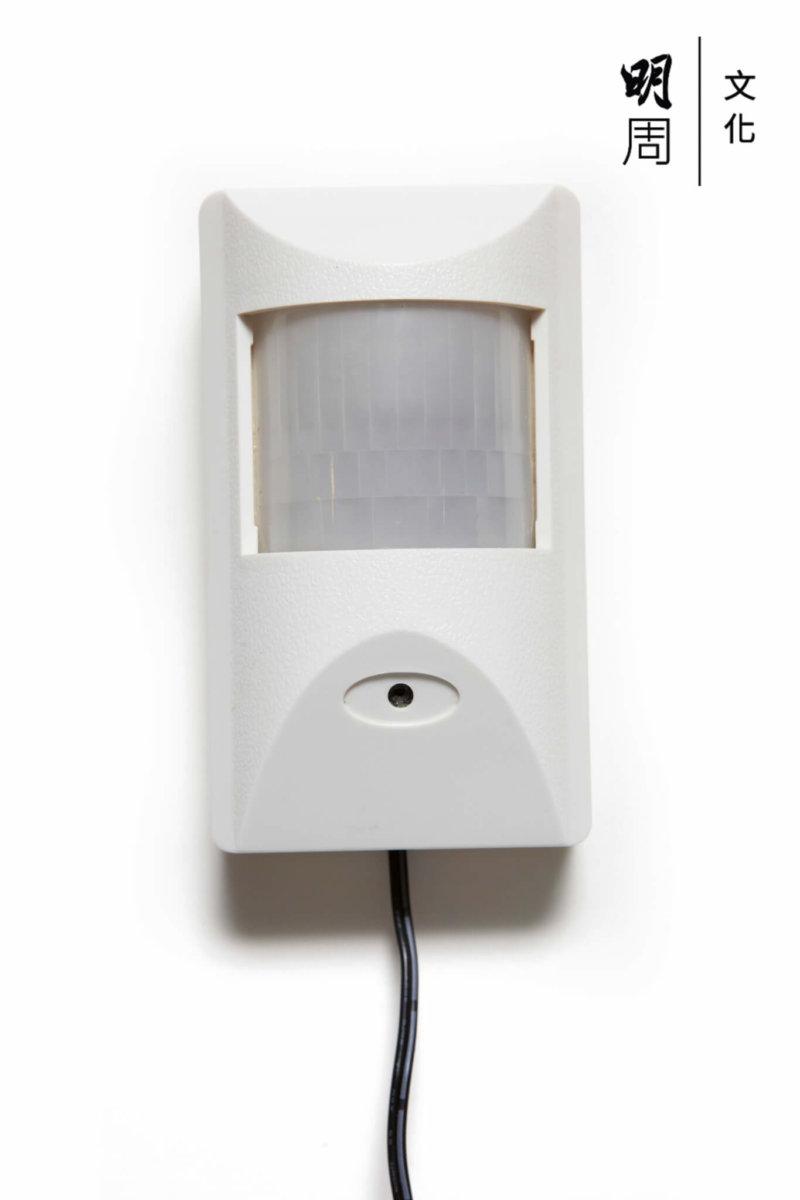 紅外線感應器:實際上用於偷拍,現在盛行。