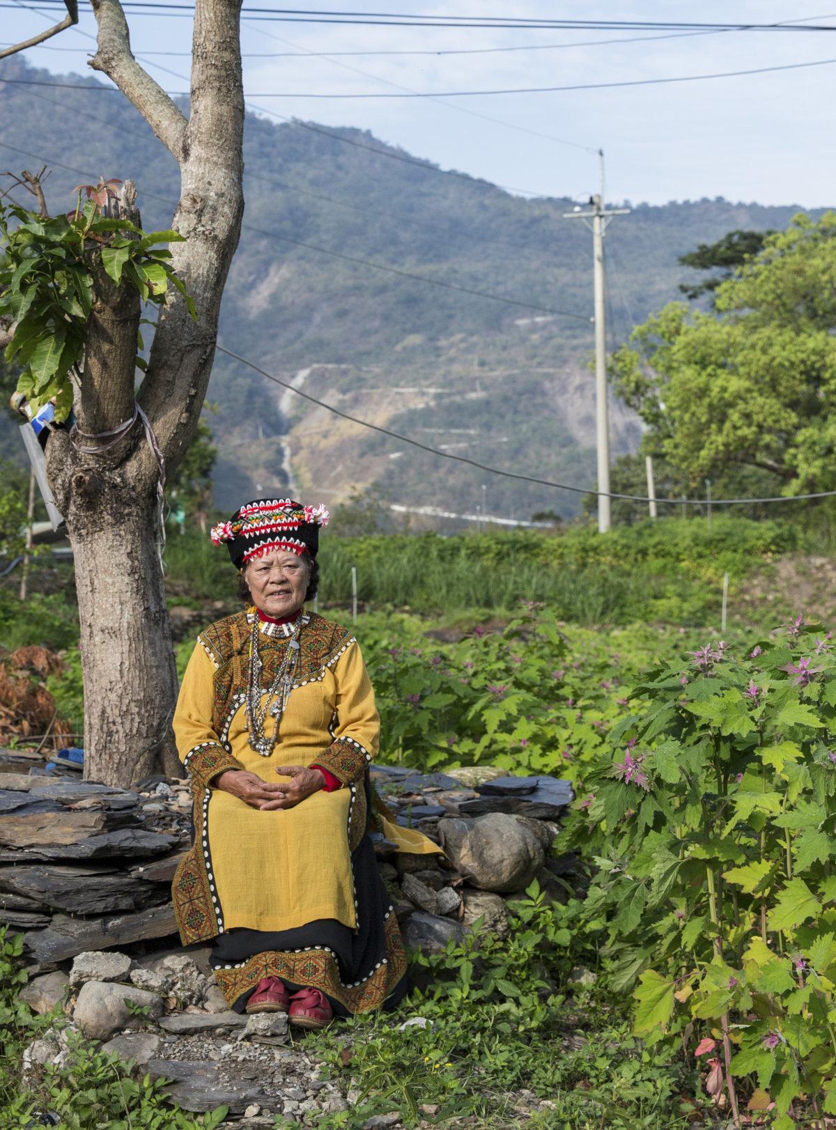 大武部落婦女頭飾上的紅心百合花,代表有遵守部落規範,沒有發生不正當男女關係。結婚就可以佩戴一朵(即一排),與其他家的義結金蘭也可以佩戴紅心百合。麥伊蘭有過兩次義結金蘭,結一次婚。