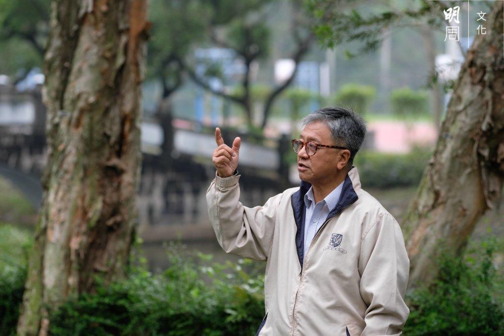 前中大哲學系系主任張燦輝