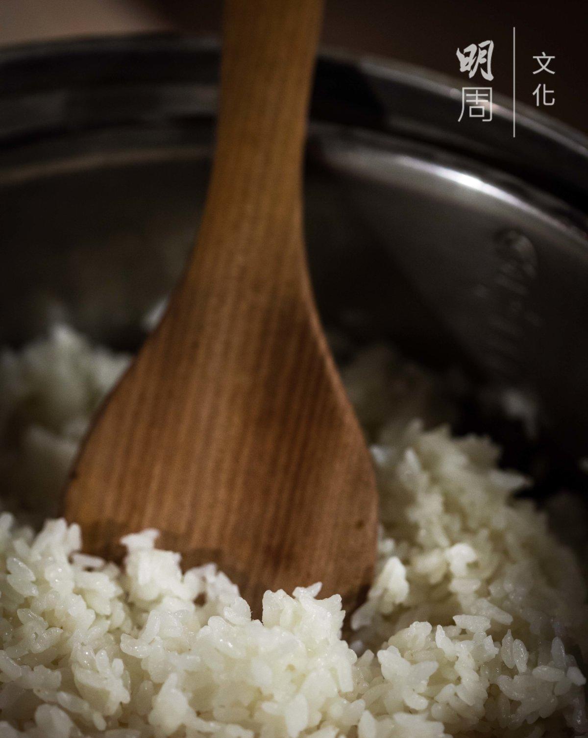 池上白米飯宴會上的是重要「菜式」